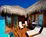 4D Sheraton Maldives Full Moon Resort & Spa Double water Bungalow -2 People - promotion