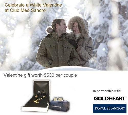 White Valentine Package