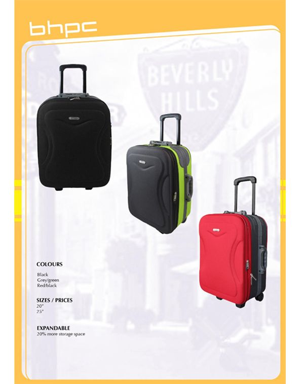 Do you have a family of jetsetters  Choose price option three for a set of  three pieces of the Beverly Hills Polo Club Luggage set. 43636c830828e